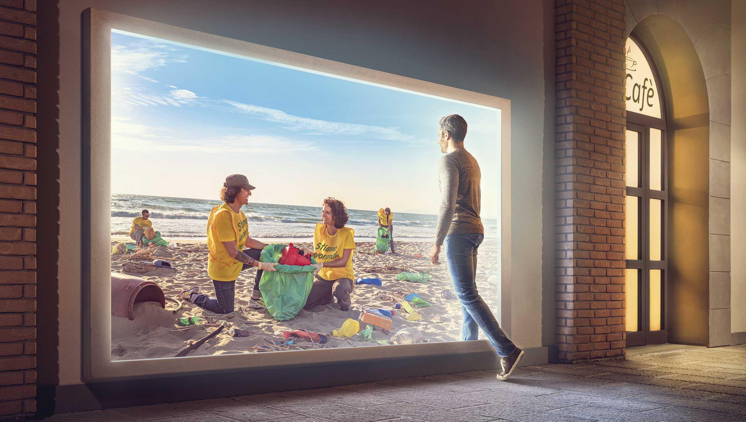 Immagine campagna: Spiaggia pulita